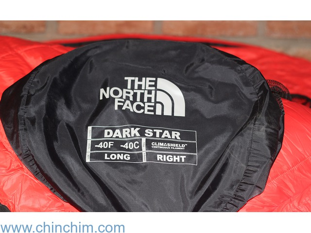 Bolsa de dormir The North Face Dark Star -40 C